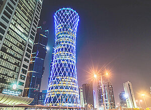 FlowCon Project Tornado Tower Doha Qatar