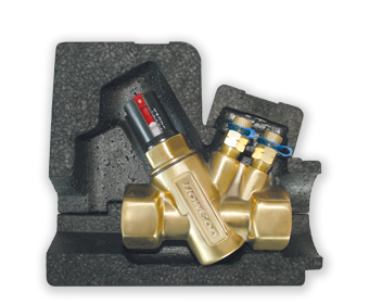 FlowCon Insulation Shells to FlowCon E-JUST in FlowCon AB Valve DN15-25