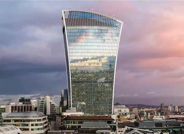 FlowCon Project Walkie Talkie London UK